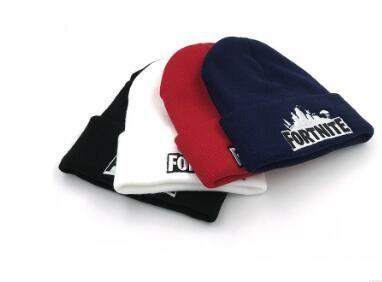Fortnite Sombrero guisantes Fortnite Lucha Hip Hop casquillo del Knit Cap bordado de punto de Invierno adolescente riñón casquillo caliente haba de DHL compras libres