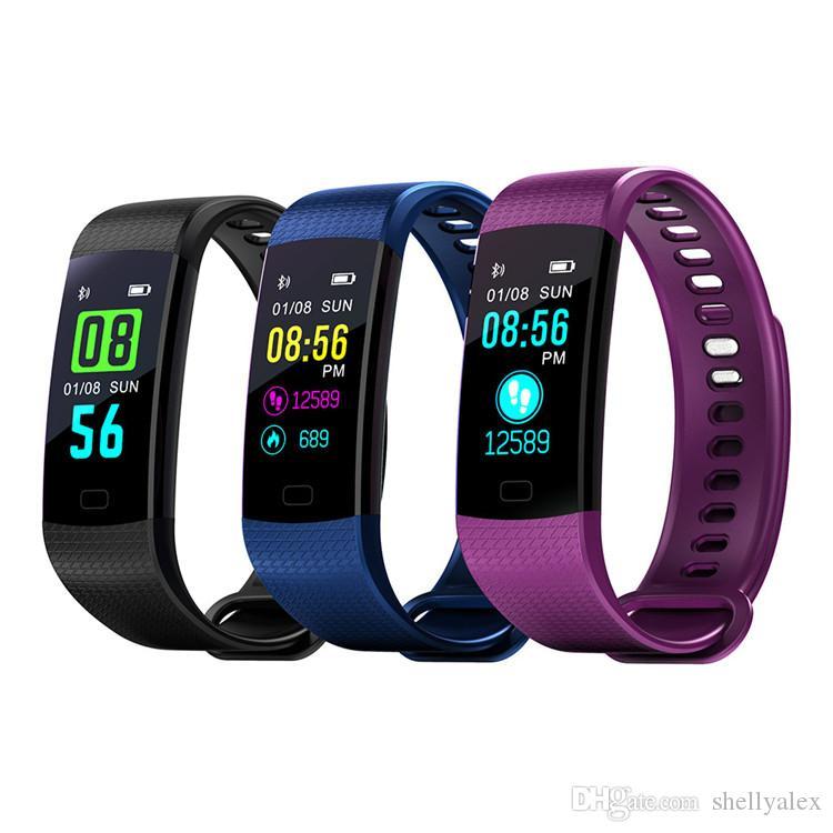 Sport Step Tracker Smart Bracelet Wristband Heart Rate Monitor Sleep Pedometer Evaluate Sport Activity Tracker for iphone Samsung