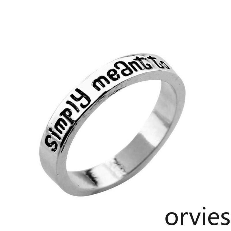 marchio di moda anello nuovi gioielli anello lettera popolare 2020 di gioielli fashion designer smiply