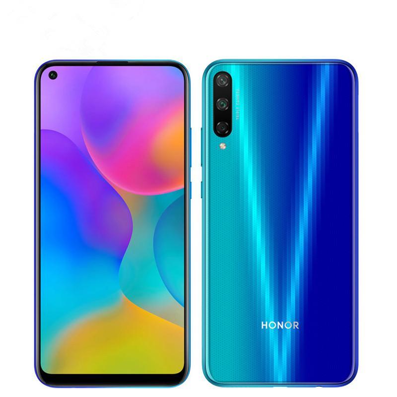 """الأصلي Huawei Honor Play 3 4G LTE الهاتف الخليوي 4GB RAM 64GB 128GB ROM Kirin 710F Octa Core Android 6.39 """"ملء الشاشة 48MP OTA 4000MAH بصمات الأصابع معرف الوجه الهاتف المحمول الذكية"""