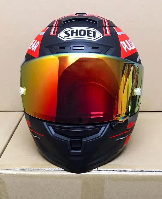 Yeni sho e I93 çekme BEAR motor yarışı motosiklet şapka Tam Yüz güvenli yarış Yaz X14 93 DULL modeli kask helmt kask
