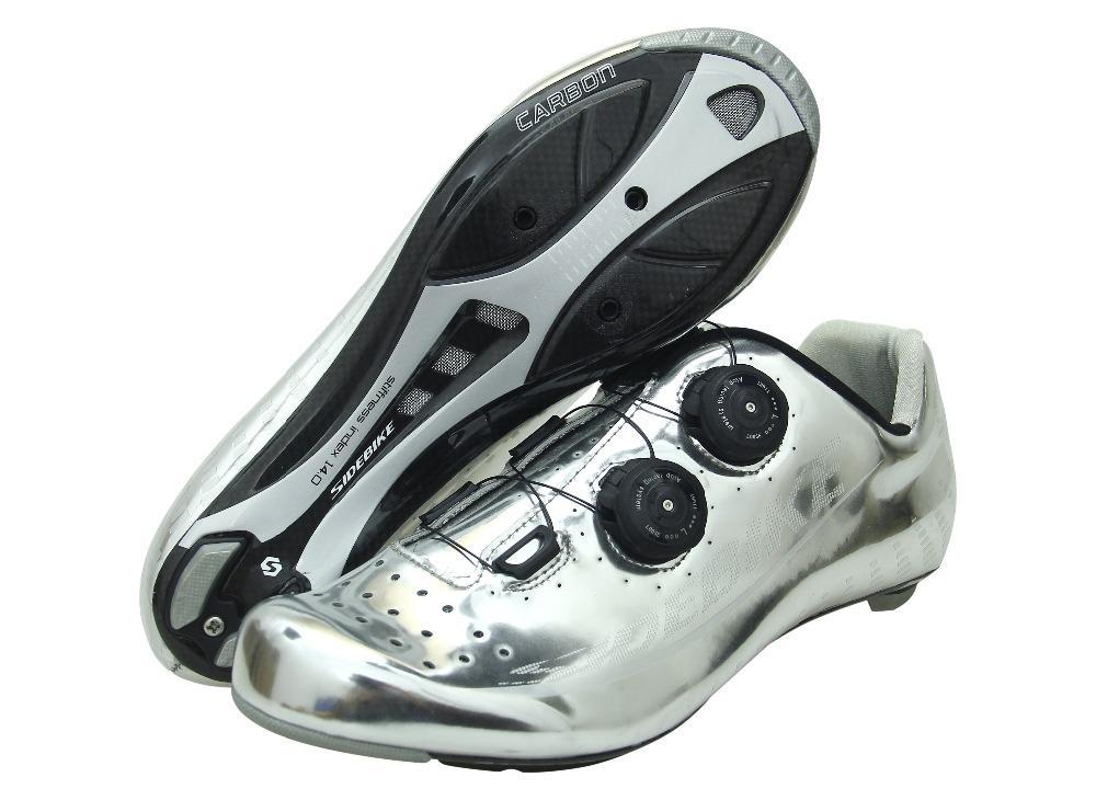O envio gratuito de atacado fibra de carbono profissional de ciclismo sapatos autoblocante ROAD super leve e MTB sapatos ciclista bicicleta de estrada