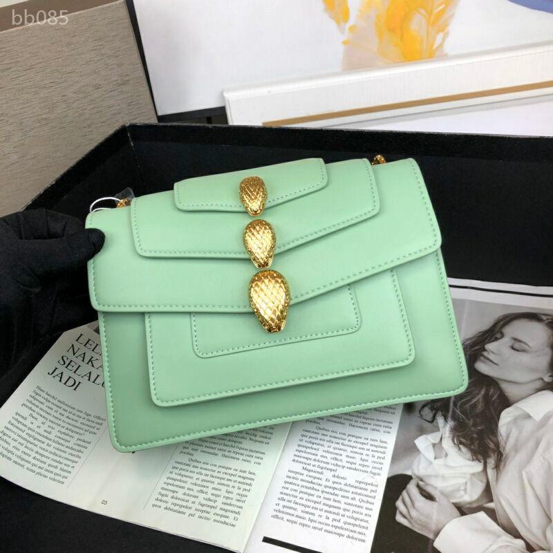 Borsa in pelle delle borse delle donne la catena della spalla Crossbody Bag nuovo per stile delle donne di borse e borsa della nuova annata di arrivo Size 23cmX9cmX15cm Tipo5