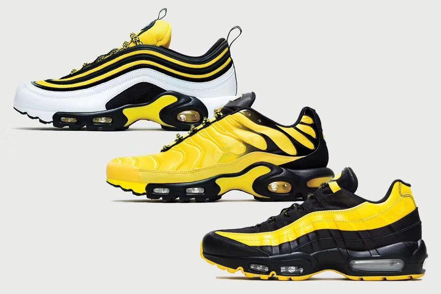 신발을 실행하는 2018 새로운 디자이너 TN 주파수 팩 패션 블랙 좋은 남성 운동화 야외 조깅 운동화 크기 40-46를위한