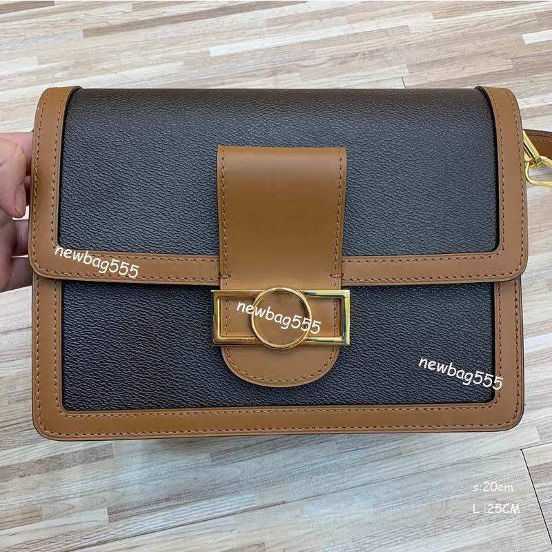 2019 new fashion messenger bag women oxidizing leather chain shoulder bag crossbody metis floral handbag calfskin patchwork two-tone cluthes