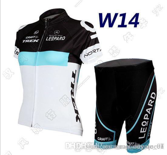 2017 W1 primavera y el verano Tour de Francia versión de la bicicleta de montaña bicicleta de humedad que absorbe la manga corta del juego de las mujeres Jersey