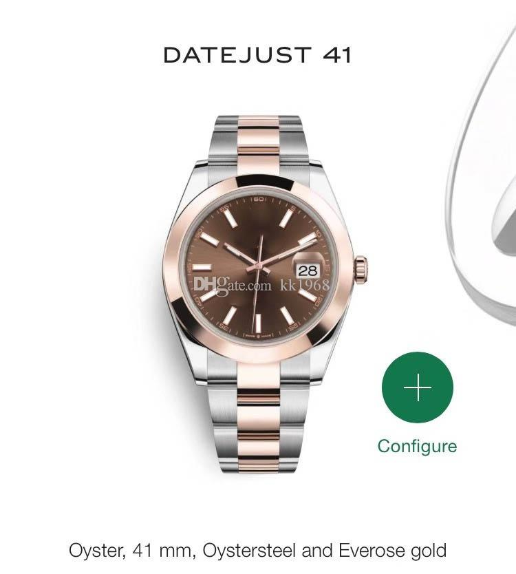 632 Мужские часы Top Man Luxury Sport Watch качества Asia 2813 40мм из нержавеющей стали автоматические механические часы Водонепроницаемый 30M