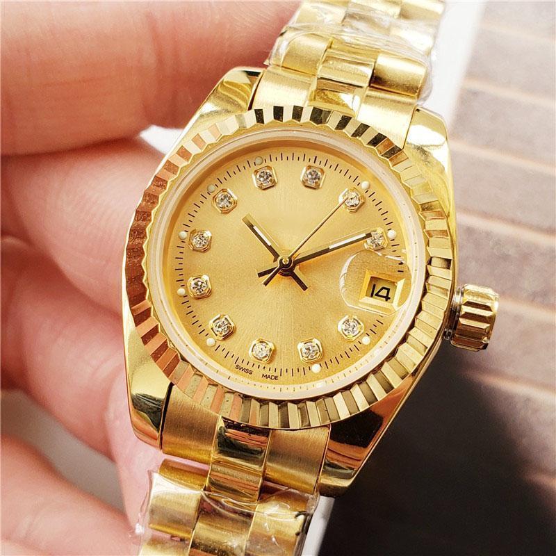 28 millimetri 36 millimetri 41 millimetri 2813 Modo Movimento Presidente 18K Mens vigilanza del diamante delle donne automatico Sapphire Dseigner orologi meccanici
