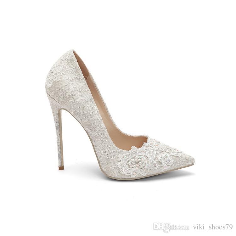 2019 new 12cm 10cm heel height High quality Hot sale fashion high heel dinner crystal women wedding shoes