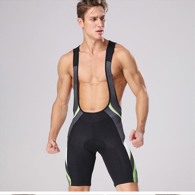 MTP Summer men Cycling padded Bib Shorts Bicycle riding Tights Pants 4D Breathable Wicking Road Bike Cycle Vest bib shorts