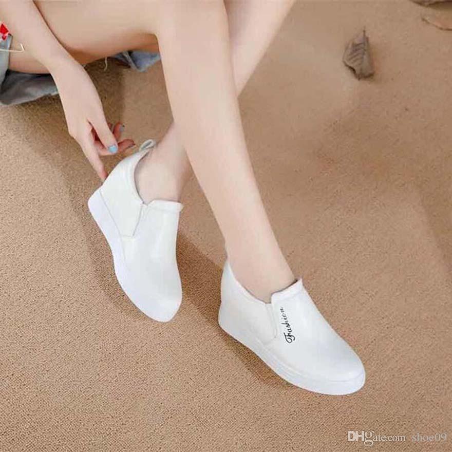 shoe09 tarafından PH067 bayan ayakkabı Yüksek kaliteli deri Sneakers Espadrilles mans eğitmenler makosenler hava Espadrilles des chaussures