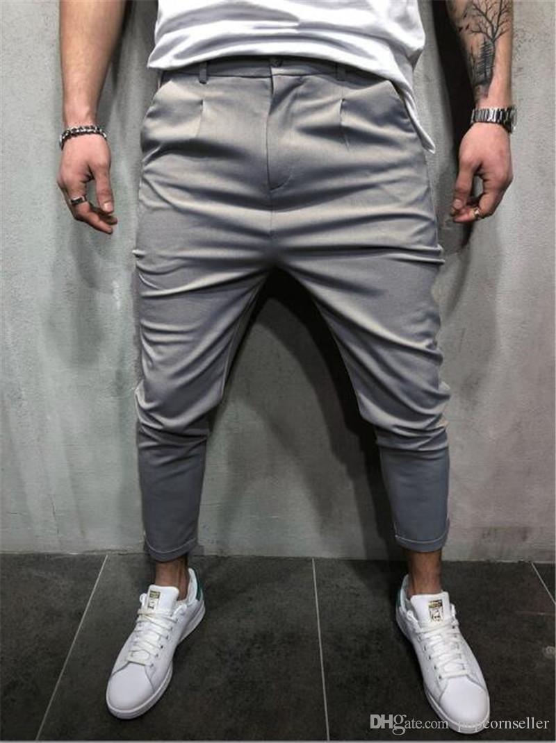 Para hombre de la ropa del diseñador del basculador Pantalones Pantalones Pantalones 20FW Otoño Primavera Deportes lápiz Sweatpants Hommes Pantalones