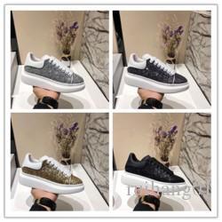 2020 Designer de Luxo calçados casuais Melhores Cheap Top Quality Mens partido Sneakers Womens Moda Calçados Glitter Shinny Sneakers tênis F013