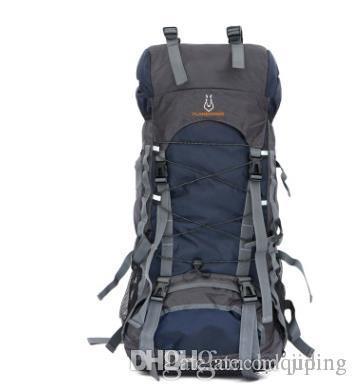 AMEISEYE bolsa de camping al aire libre 60L Mochila Mochila Deportes Hombre para viajes de senderismo y el alpinismo impermeable ultraligero