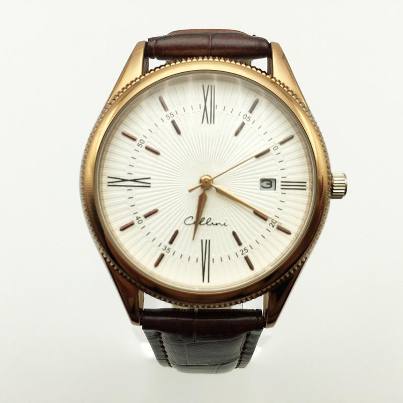 Top Brand Fashion Casual Men Watch Skeleton Leather Watch Quartz Hollow Dial WristWatch Analog Date Men Watch Male Clock Relogio Masculino