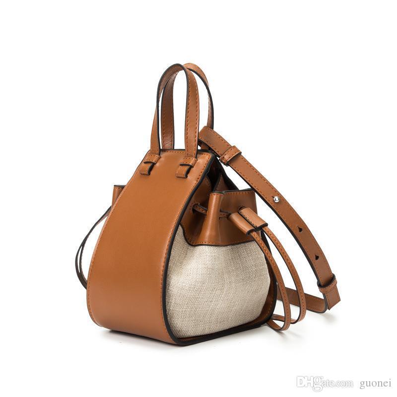 Designer-2019 de Moda de Nova Bucket saco bolsa de couro de alta qualidade Ladies Ombro Casual Bolsas de Luxo Mulheres Bandoleira Sacos para meninas Tote