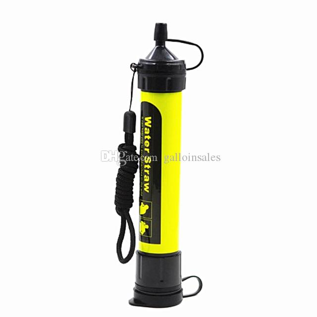 Portable Purifier Straw Water Filter Survival Kit Emergency Gear Super water filtration Wild Outdoor Personal Water Filter PWF001