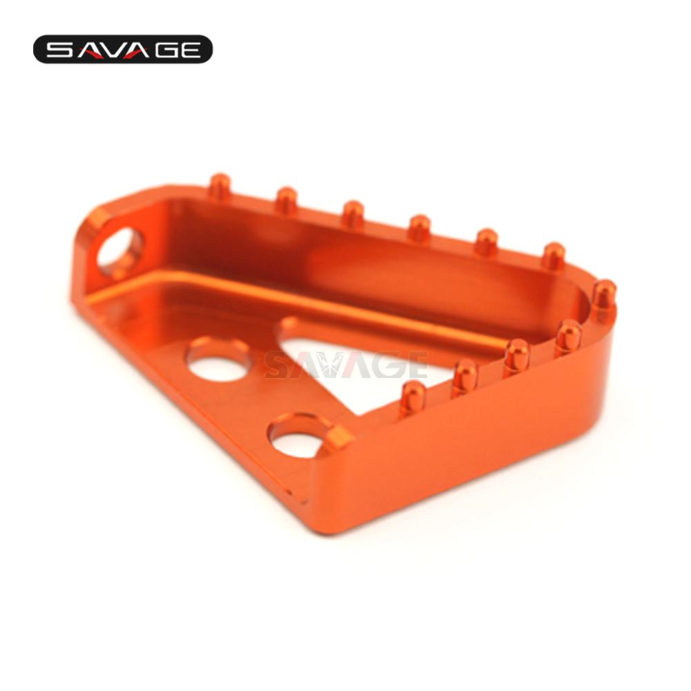 Brake Pedal Plate Cleats For KTM 690 DUKE/R Enduro/R SMC SMC-R Supermoto/R Motorcycle Accessories Rear Step