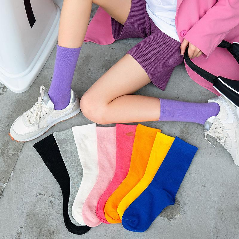 브랜드 패션 여성 남성 양말 고품질의면 양말 편지 통기성면 스포츠 양말 도매 N57