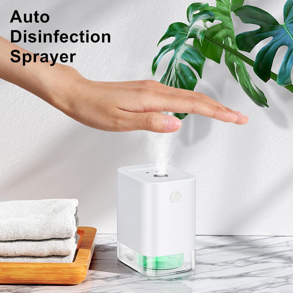 Sin contacto automático Esterilizador spray limpiador atomizador desinfección de las manos de infrarrojos de inducción Mini dispensador líquido de desinfección pulverizador