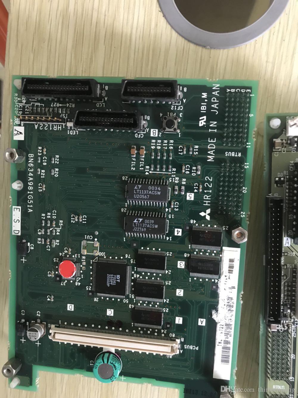 La placa de circuito Mazak original HR841 utilizó prueba OK Envío rápido acelerado