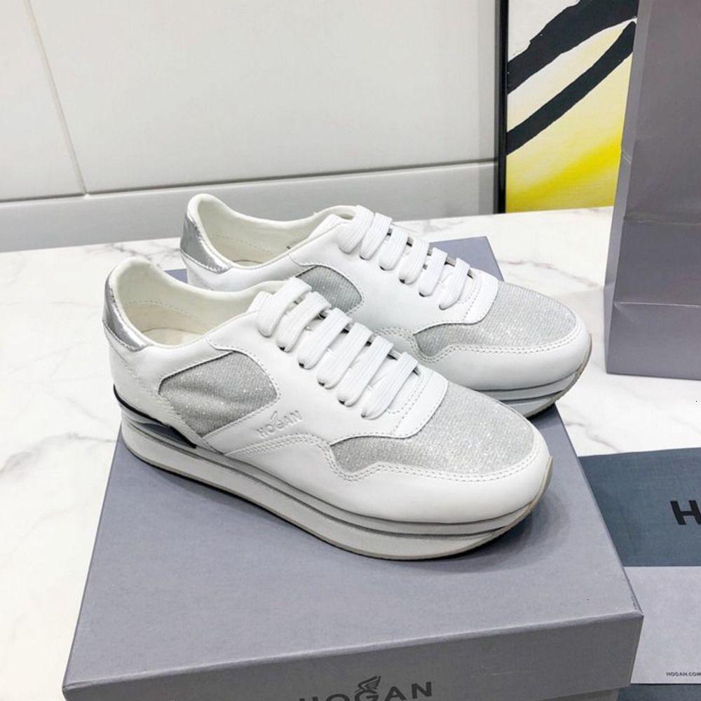 scarpe sportive 2019 moda cuciture scarpe casual colore chiaro contrasto Donne formato 35-39 WSJ000 stile universitario personalità lace-up shoesx6