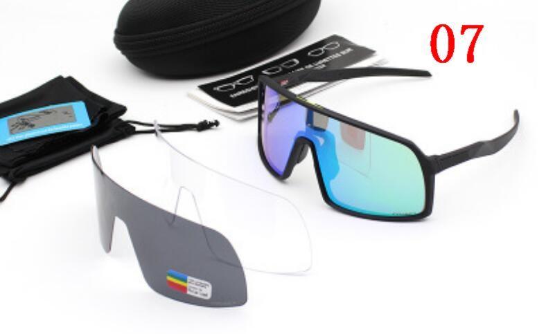 Nueva Gafas al aire libre Ciclismo hombres TR 90 Marco Moda Gafas de sol polarizadas Gafas de sol de los hombres 9406 Gafas Envío libre