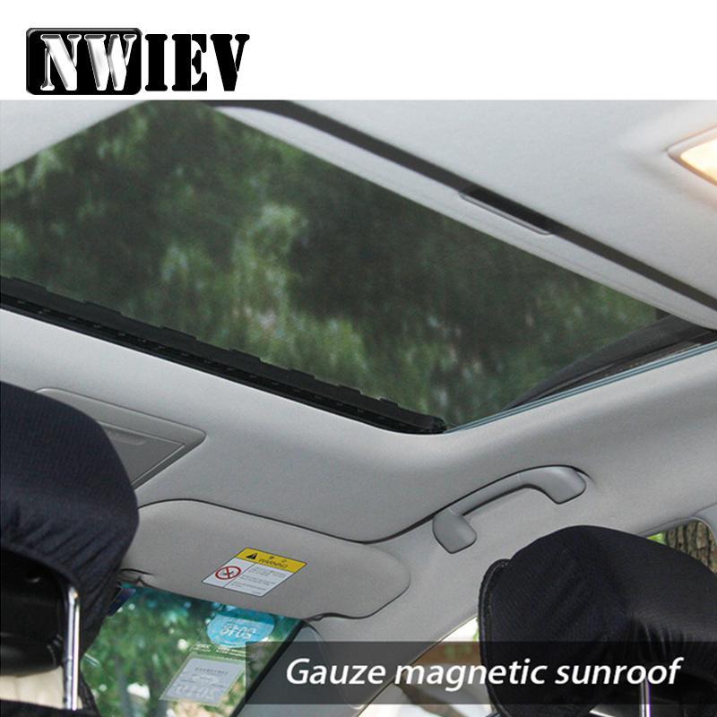 Toit ouvrant NWIEV voiture fenêtre couverture pare-soleil Mesh Mosquito Protection poussière Civic 2006-2011 3 6 CX-5 CX-4