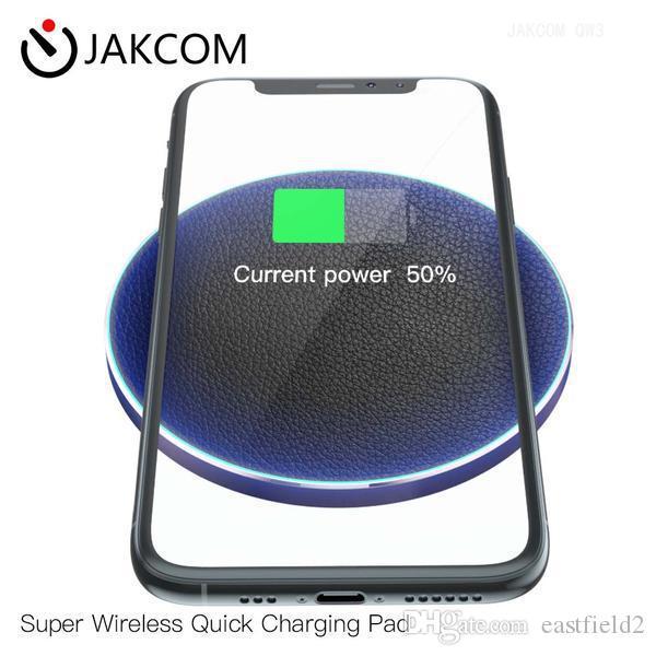 JAKCOM QW3 Super Wireless Charging Pad rapida Nuove cellulare caricabatterie come importati set telefono scacchi pannello solare Quad