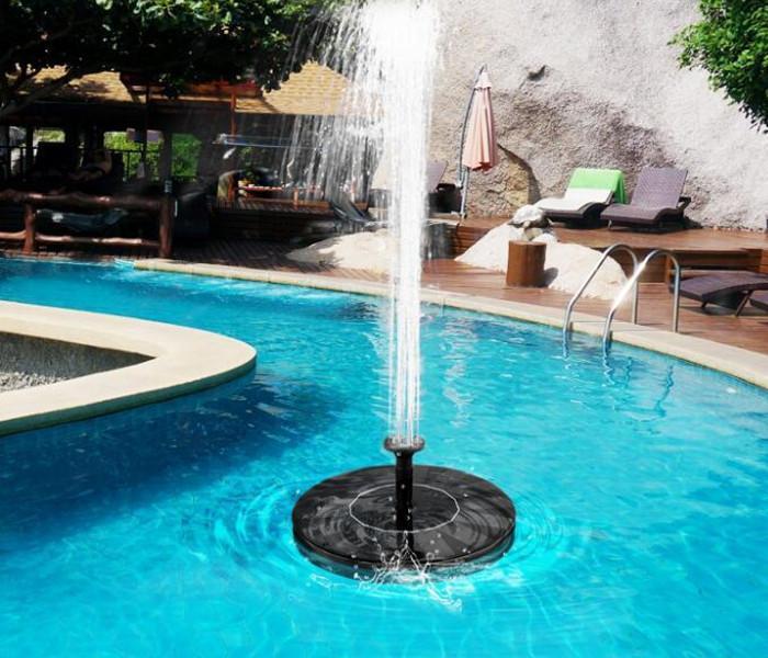 작은 연못 2020 미니 태양 분수 물 분수 정원 수영장 연못 태양 전지 패널 정원 장식 휴대용 야외 분수