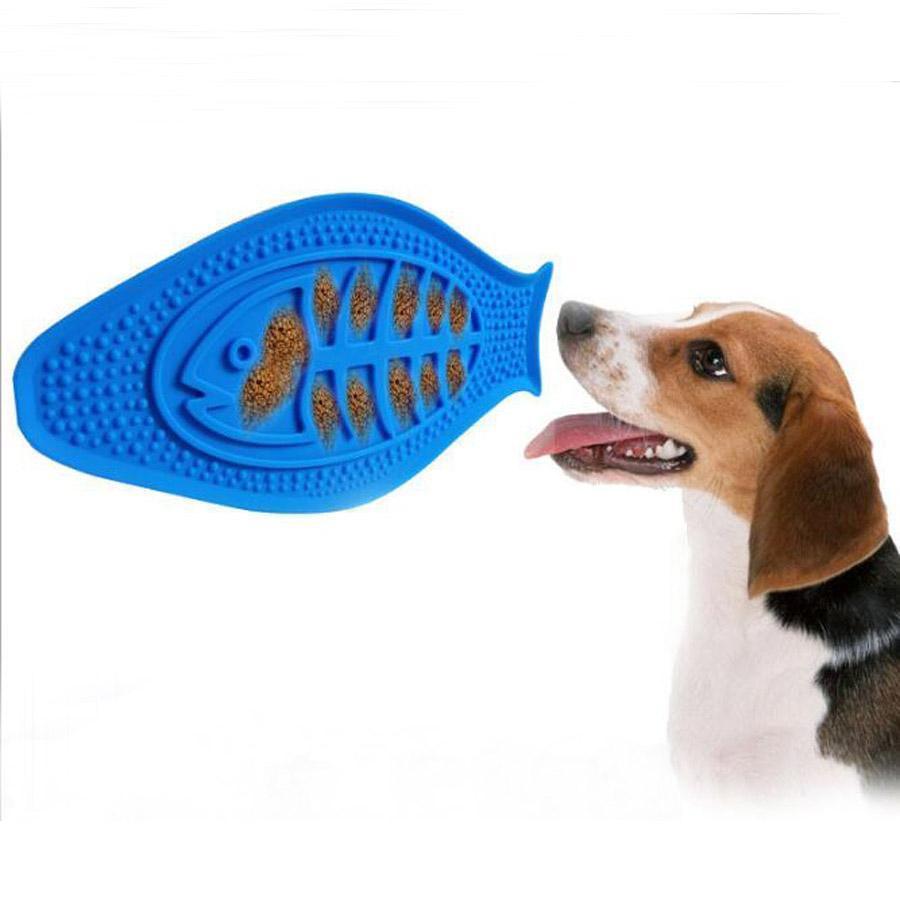 개 공급 애완 동물 제품 실리콘 목욕 장난감 흡입 컵 그릇 어리버리 교육 느린 피더 만들기 목욕 쉬운 도구 고정했다