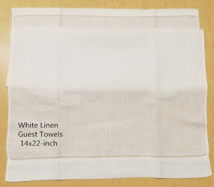 """Accueil Textiles Serviette Ensemble de 12 serviettes d'hôtes 14 """"x22"""" Puisselles de linge de linge à la main brodée"""