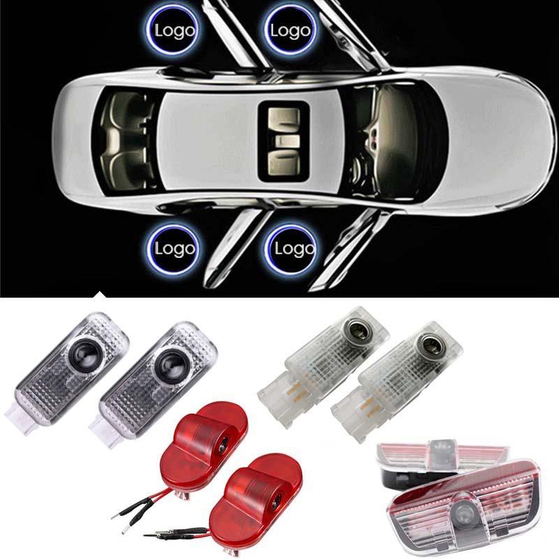 LED für Volkswagen VW Polo Golf 5 6 7 Türlicht Passat B3 B5 B6 B7 TOUAREG SCIROCCO CC LED Willkommen Logo Lichtprojektor