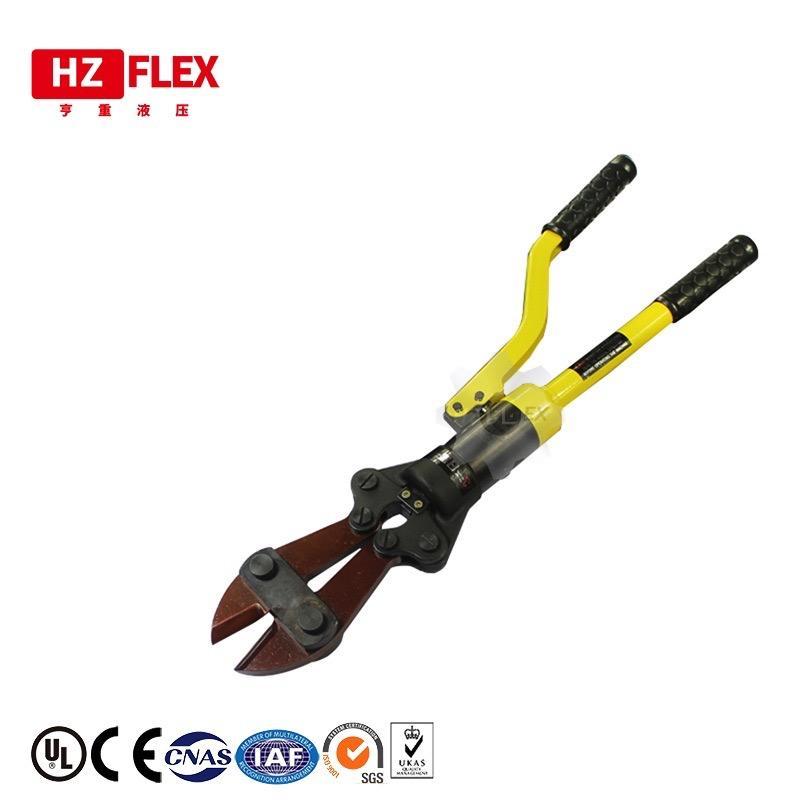 Cisailles à barre hydraulique des barres d'armature manuelle multi-fonctions coupe 4-12mm outils de coupe de barres d'armature hydraulique