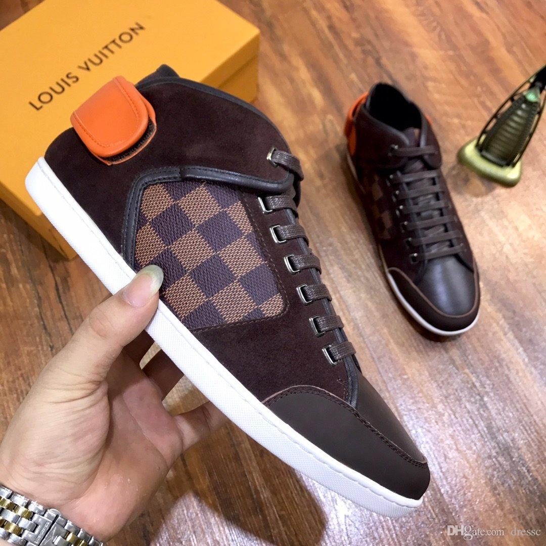 New11 zapatos casuales de los hombres de alta calidad zapatos deportivos al aire libre salvajes zapatos de los hombres cómodos de viaje caja de empaquetado original de entrega rápida