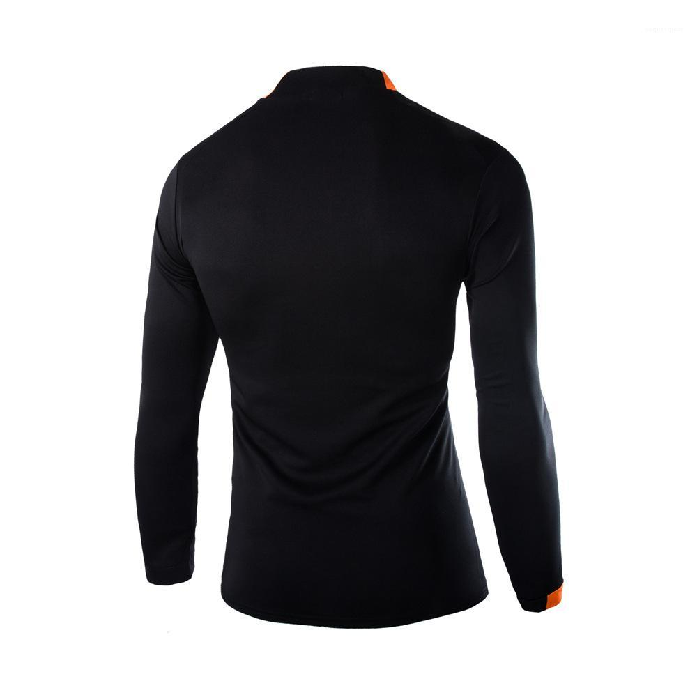 Pullover Outdoor Teenagers Tops Casual Fashion Style Mens Apparel Sport Elastic Mens Designer T Shirt