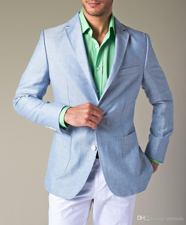With blue color pants what blazer light What to