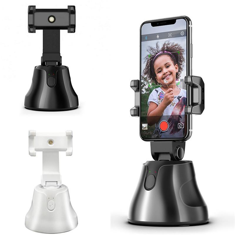 360 ° Rotation Face Tracking-Halter Auto Smart Phone Halter Selfie Shooting Gimbal-Stock-Foto Vlog Kamera Live-Video auf Nimm einen Stand