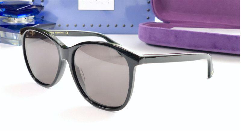 new fashion women designer sunglasses 0024 square frame sunglasses fashion show design summer simple style uv400 lens with box
