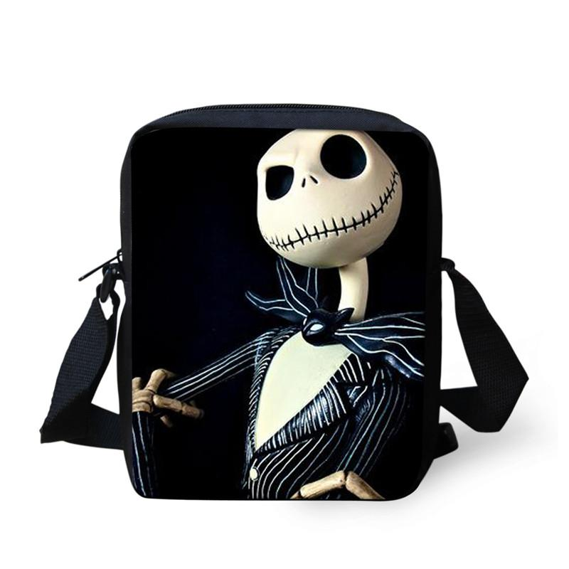 Nightmare Before Christmas Candy Women Top Handle Satchel Handbags Shoulder Bag Tote Purse Messenger Bags