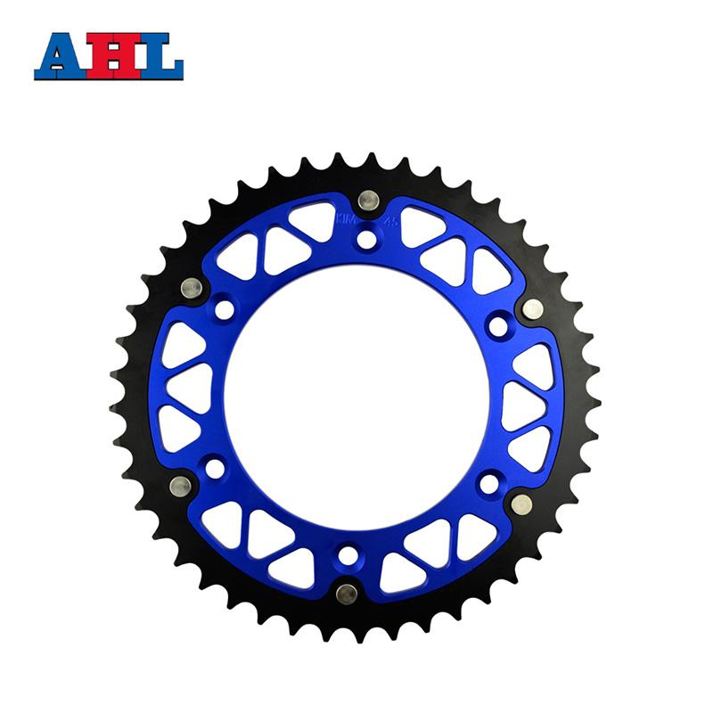 Motorcycle Parts Steel Aluminium Composite 45 ~ 52 T Rear Sprocket For HUSABERG FE600 FE 600 Enduro 2000-2003 Fit 520 Chain