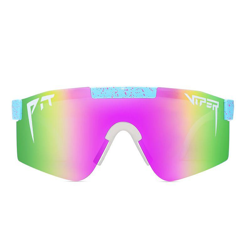 Çukur Viper High-end Spor Güneş Gözlüğü Polarize TR90 Malzeme Polaroid Lens Güneş Gözlükleri Erkek Kadın Orijinal Kılıf
