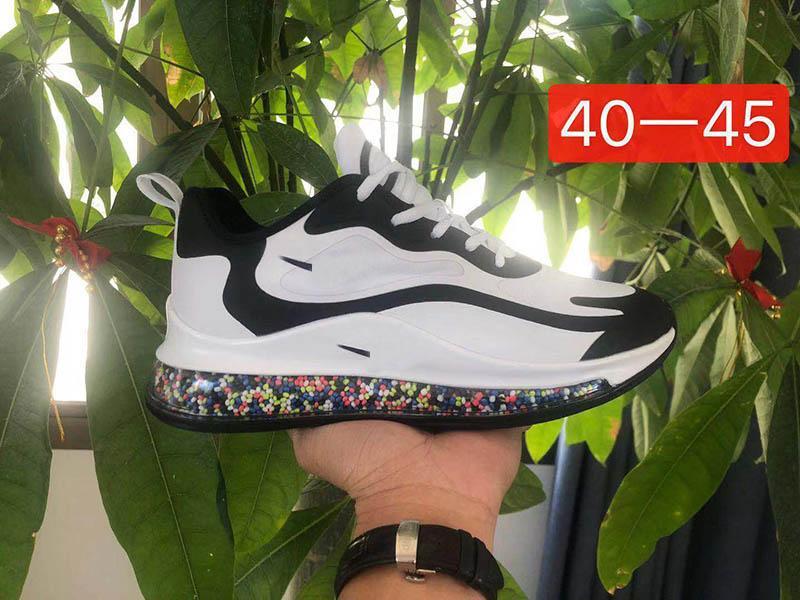 En kaliteli 2020 Patlamış mısır alt erkekler kadınlar Beyaz koşu ayakkabıları üçlü Uzay Yolu spor ayakkabıları açık seyahat koşu spor ayakkabıları EUR36-45 kırmızı