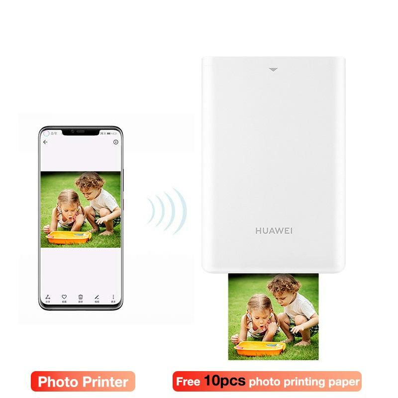 AR Portable photo Pocket imprimante bricolag Portable imprimantes photo pour les Smartphones Bluetooth 4.1 300dpi imprimante