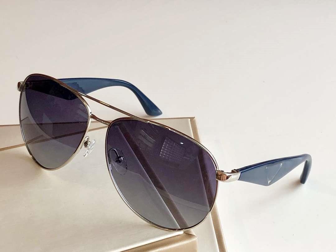 Mens Designer Óculos de metal dos óculos de sol de Verão Adumbral Goggle Óculos UV400 SPR 53Q 2 cores opcionais de alta qualidade com Box