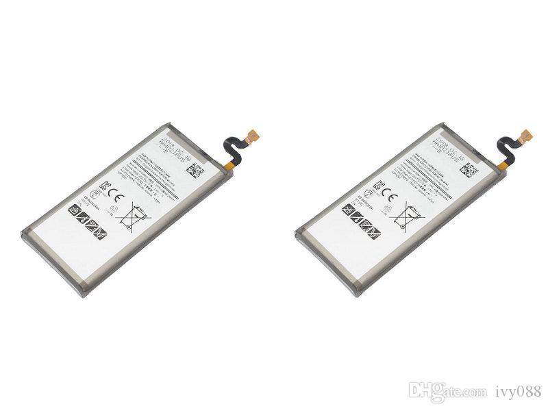 2X 4000mAh البطارية EB-BG892ABA استبدال البطارية لسامسونج غالاكسي S8 بطاريات تواجد SM-G8920 G892F G892A G892L G892 G892V SM-G892L