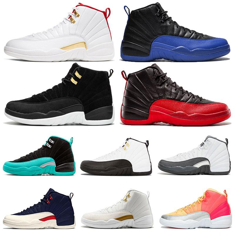 Mens Basketball Shoes 12s Flu Game