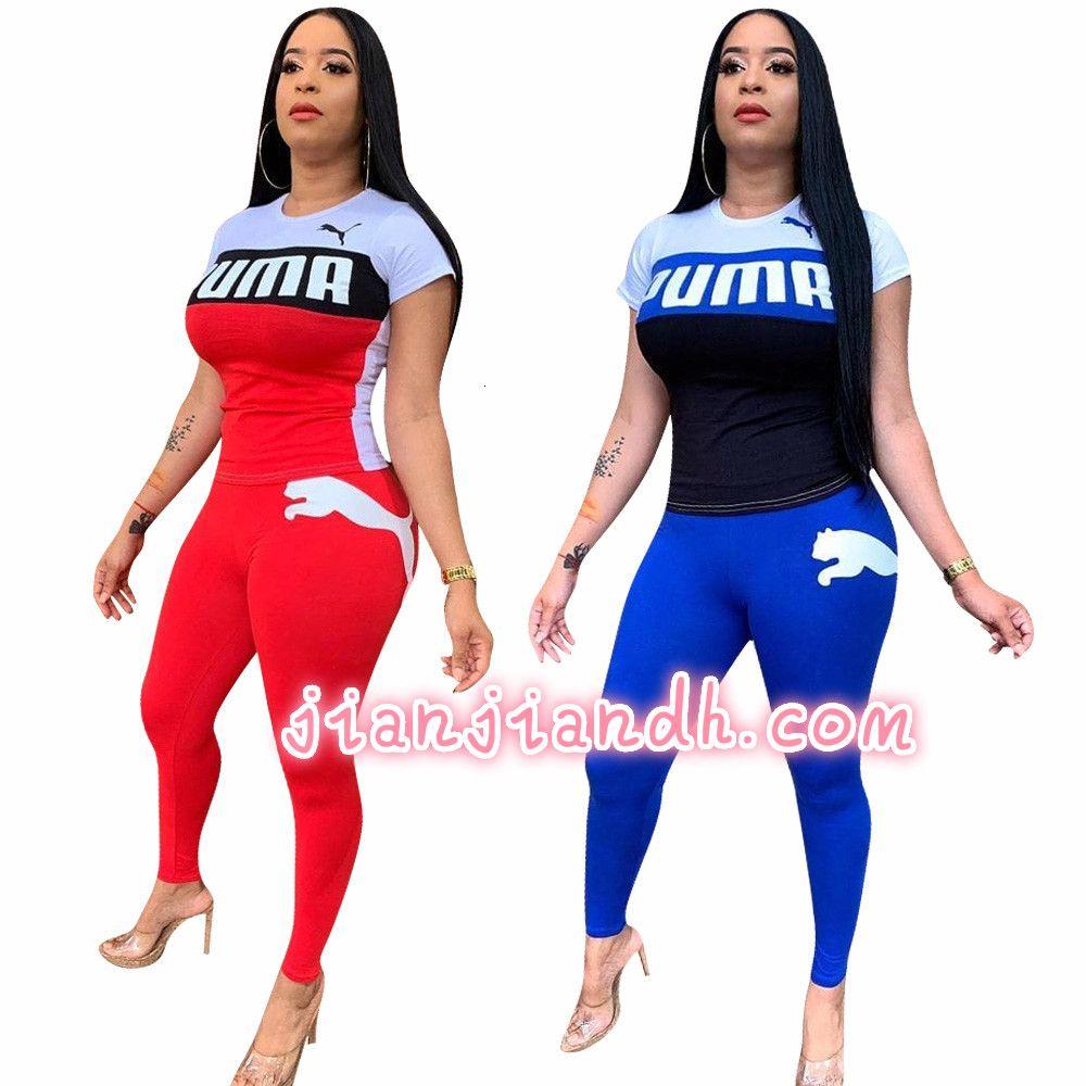 W8211 женские брюки костюм Европа и США 19 моделей взрыва женская мода случайный спортивный костюм с короткими рукавами из двух частей 81025