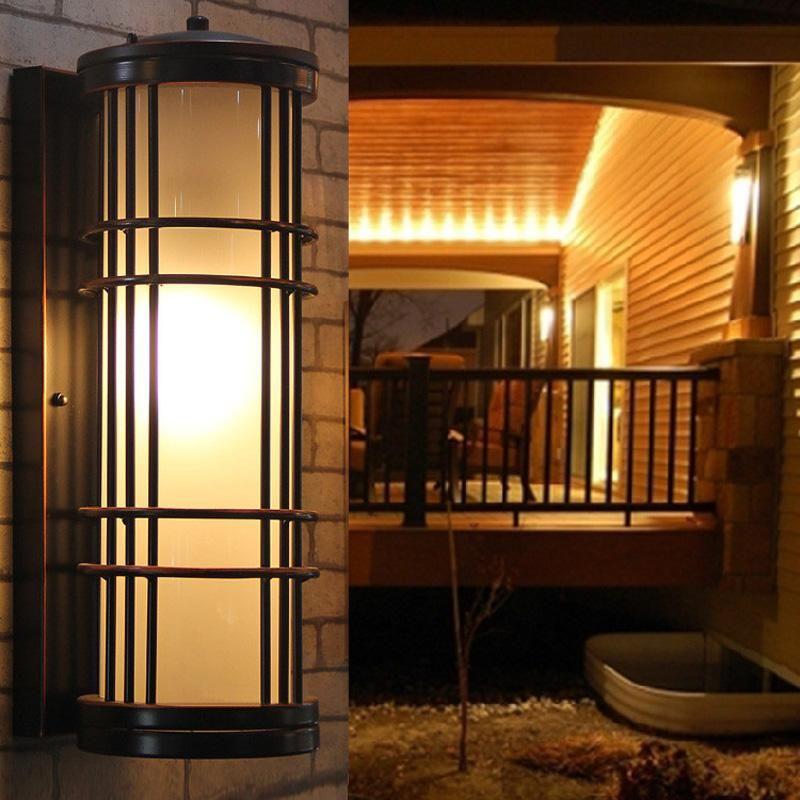 Wandmontage Schlafzimmer Nachttischlampe Outdoorlight Villa Hof outddoor Wandleuchte Light Fixtures Led Licht Schlafzimmer Led Courtard Wandleuchten