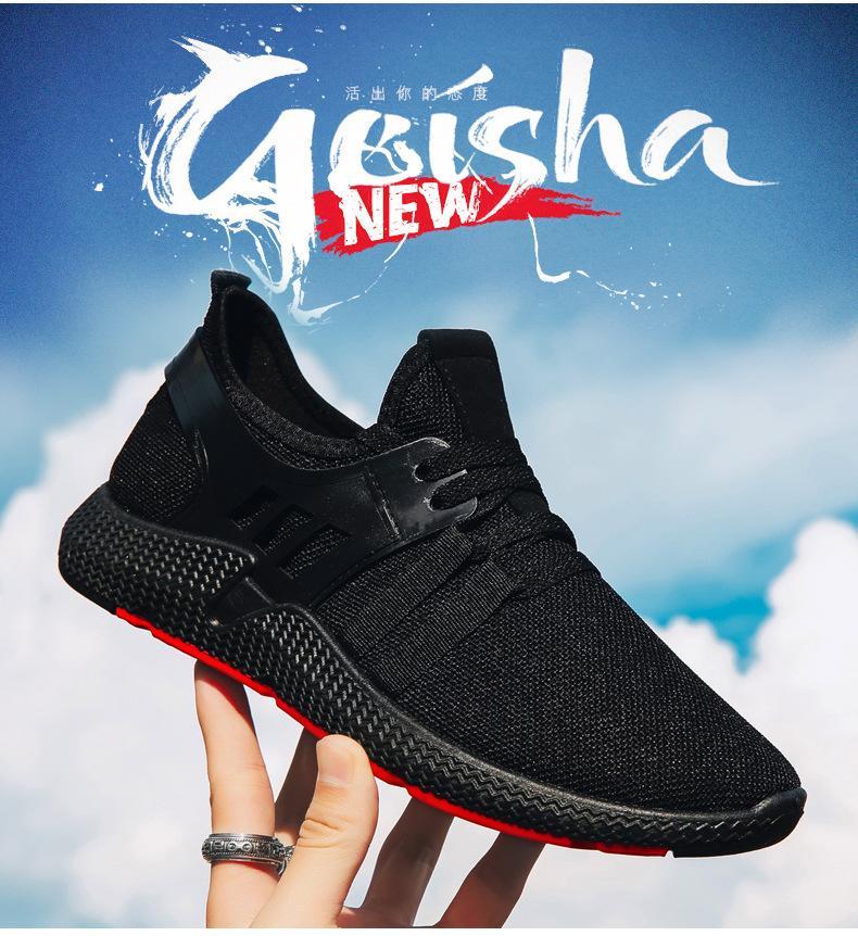 Chaussures à la mode Automne Chaussures pour hommes Loisirs Mode Chaussures noir